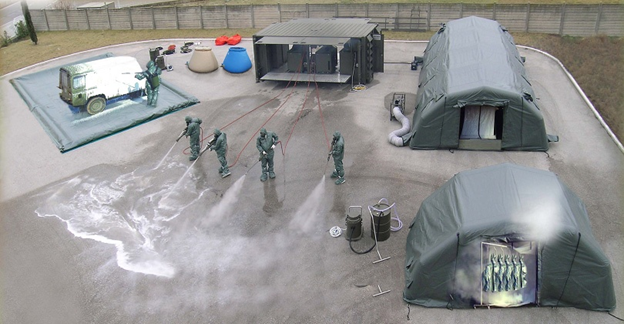 Specialized Vehicles For Decontamination