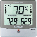Termo-higrometru cu alarma pt umiditate, model 445814 - EXTECH