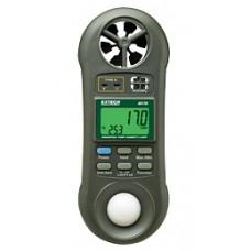 Aparat microclimat (Higro-termo-anemometru-luxmetru) - EXTECH