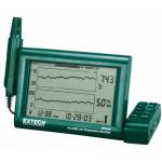 Termohigrograf cu inregistrator cu grafic de temp+umiditate - EXTECH
